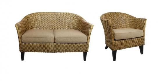 Wicker Outdoor Set main image