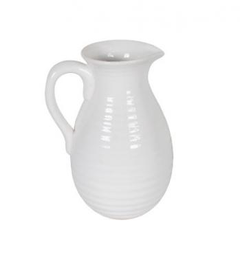 Tall Ribbed Pitcher main image