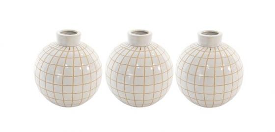 Plaid Vase Set main image