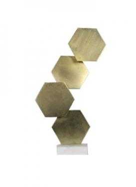 Gold Geometric Sculpture main image