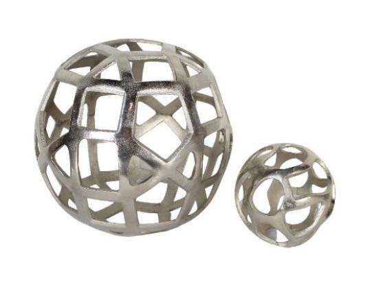 Brushed Silver Spheres main image
