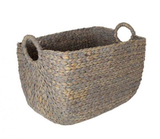 Large Grey Wash Basket main image