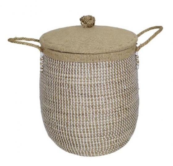Laundry Basket W/ Lid main image