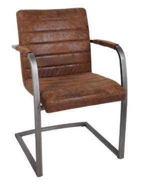 Brown Velvet Desk Chair main image