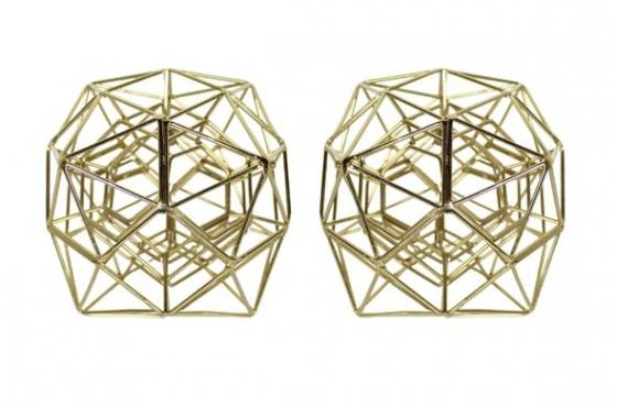 Gold Wire Cubes main image