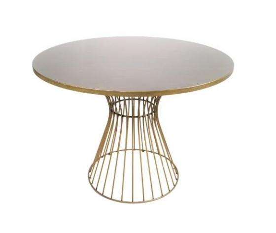 Gold Dining Table main image