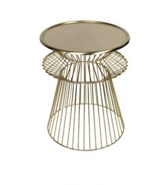 Gold Wire Side Table main image