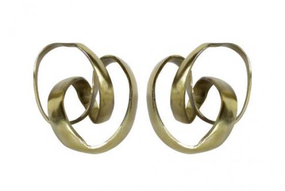 Gold Metal Swirls main image