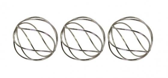 Silver Wire Spheres main image