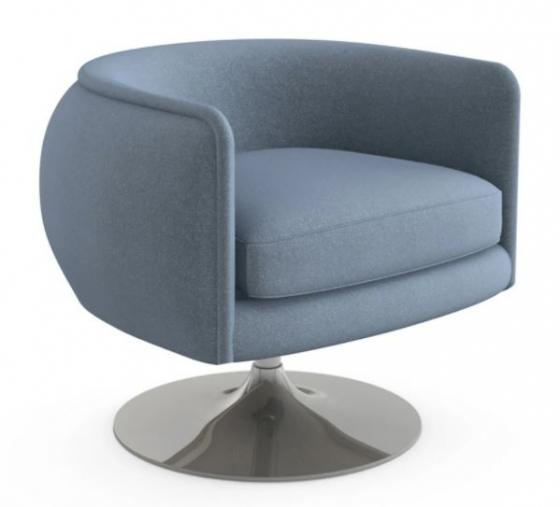 Knoll Blue Side Chair main image