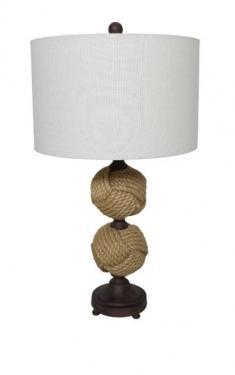 Rope Spheres Table Lamp main image