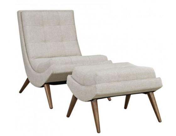 Arlington Lounge Chair & Ottoman main image