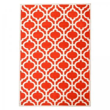 Orange Geo Rug main image