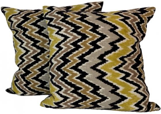 Chevron Down Throw Pillows main image