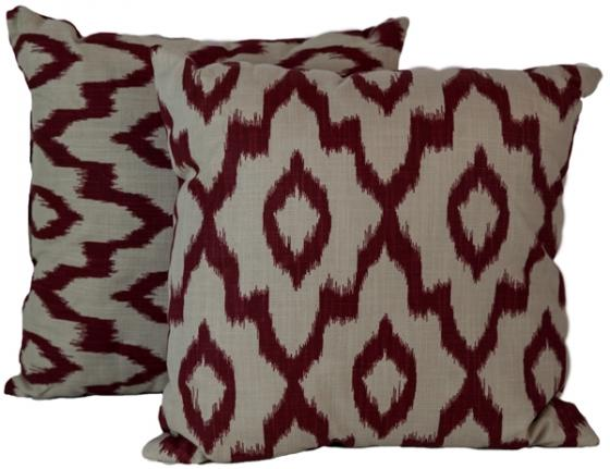 Ikat Throw Pillows main image
