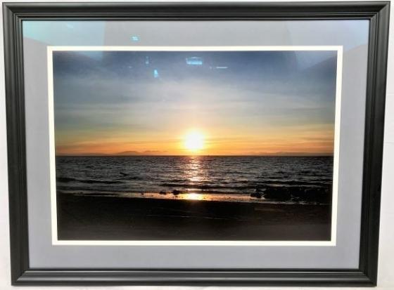 Beach Sunset Framed Photo Print main image