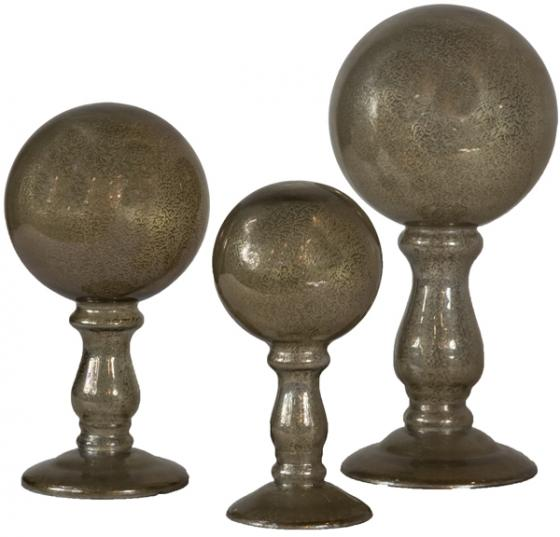Translucent Globes on Pillars  main image