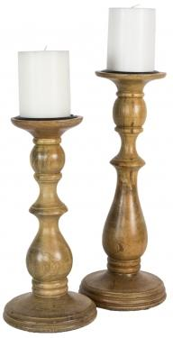 Wooden Candle Holders main image